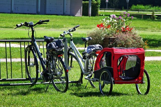 Unser Fahrrad Urlaub mit Kinderanhänger