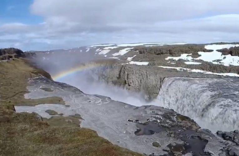Selfoss Wasserfall in Island